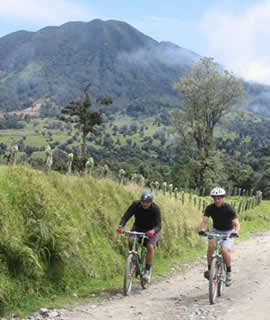 Serendipity Adventures has explored over 80 bike routes in Costa Rica. They all come with good scenery.
