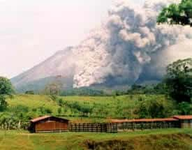 Eruptions are truly not predictable. When they happen, pyroclastic flow (ash and vaporized metals) flow down the slopes at speeds exceeding 60 miles/hour.